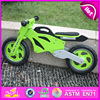 2015 best sale wooden road bike for kids, new fashion wooden balance bike, most popular kids bike W16C076-S