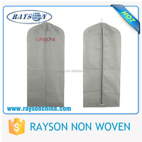 Professional Design Affordable Non Woven Garment Bag Suit Cover