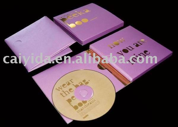 Paper CD case with high quality