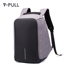 OEM custom multi functional waterproof men business travelling laptop bag backpack anti theft usb smart backpack