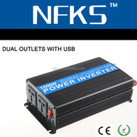 Rechargeable power inverter 1500w 12v 220v Overheat protection
