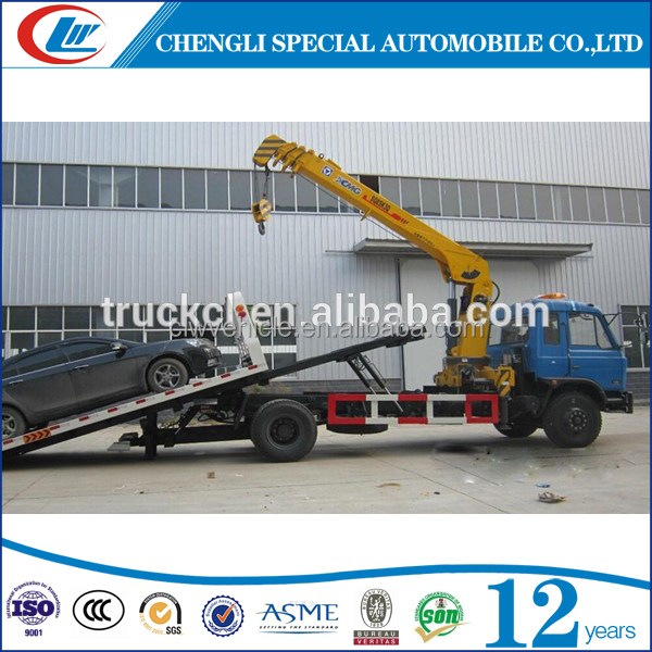 Sino truck widely usded knuckle street light crane truck for sale