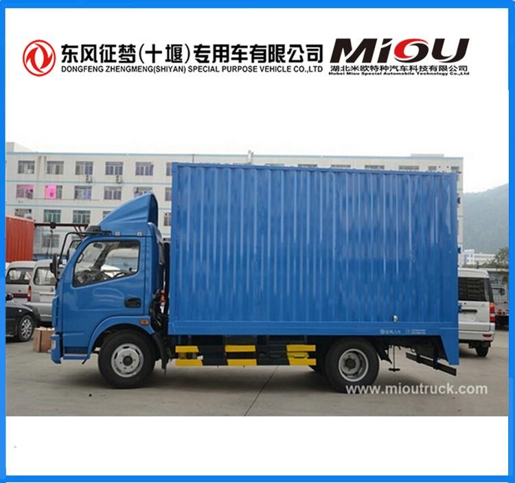 Prix usine 4x2 chine mini van 116hp mini cargo van à vendre
