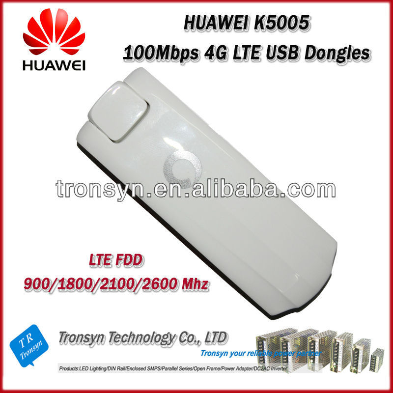 Original Unlock LTE FDD 100Mbps HUAWEI K5005 4G USB Modem And 4G LTE Dongle