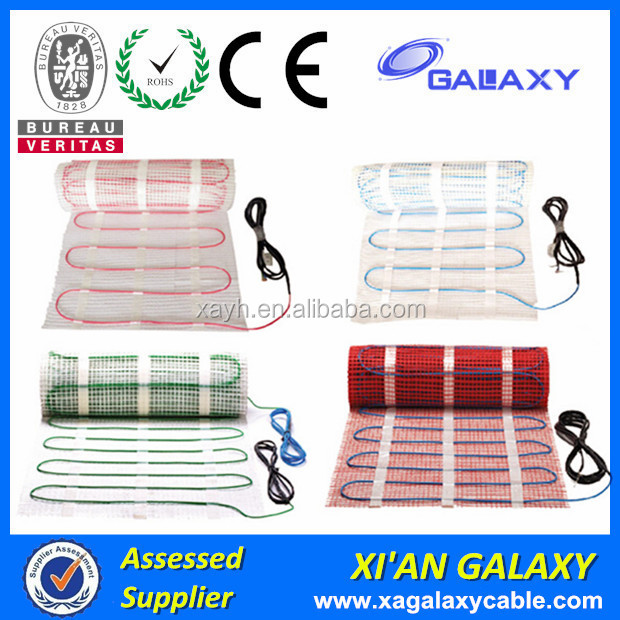 0.5m2- 15m2 Heating Mat Heating Floor System 2016 For Living Room, Dining Room, Bathroom