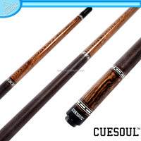 CUESOUL 1/2 Dracaena Butt Maple Shaft Pool Cue with Cue Protector