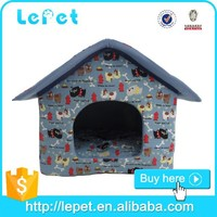 dog house plush/wholesale dog house/soft fabric dog house