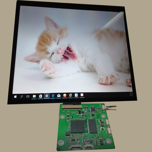 usb lcd controller board signal and power offer by one way USB input
