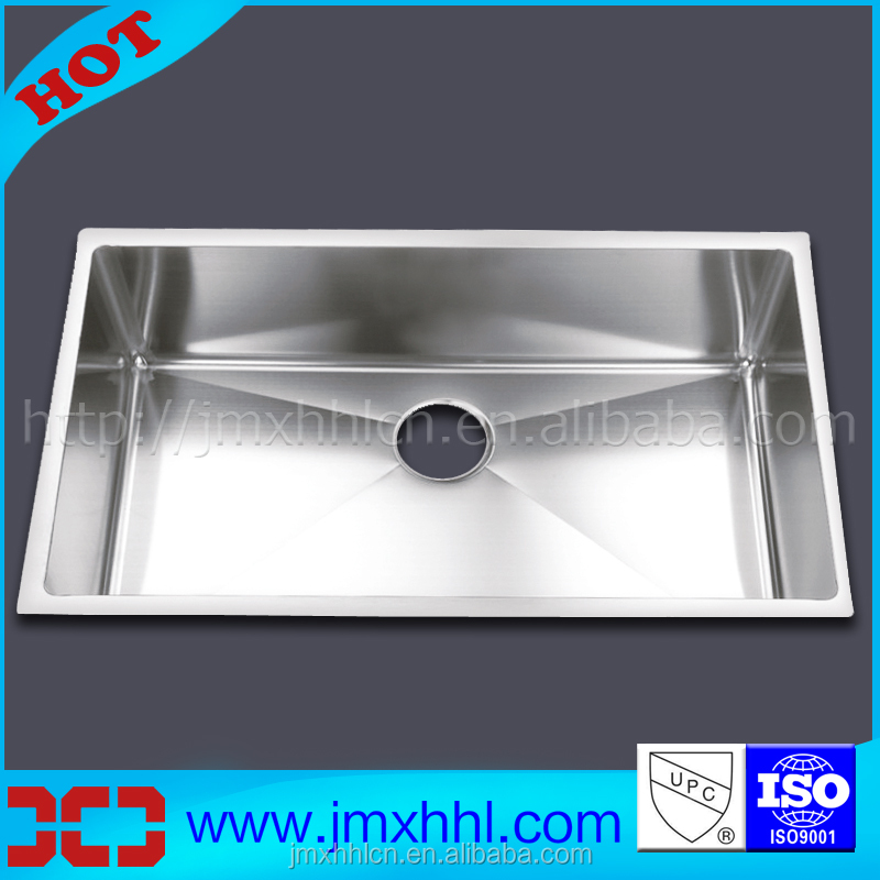 HM3018 hot model 1.2mm 304 stainless steel kitchen sink