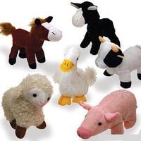 CE/ASTM standard custom best made toys stuffed farm animals