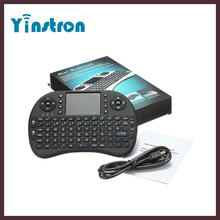 Rii I8 2.4GHz Mini Wireless Keyboard Fly Air Mouse with Touchpad for Tablet PC Android TV