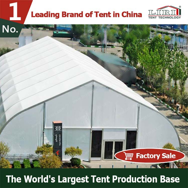 30m Big Curved Party Tent with AC System for Events
