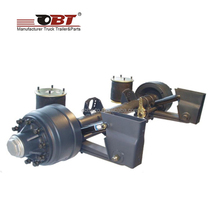 quality Semi Trailer Air Suspension Axle For Sale With High Quality