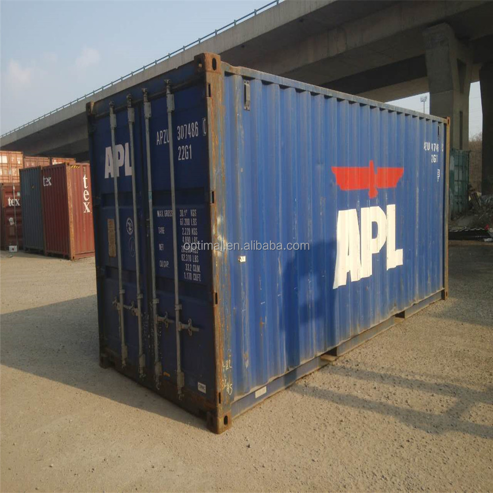 20GP old shipping container for sale