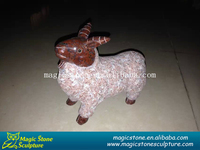 decorative stone cow figurine for sale