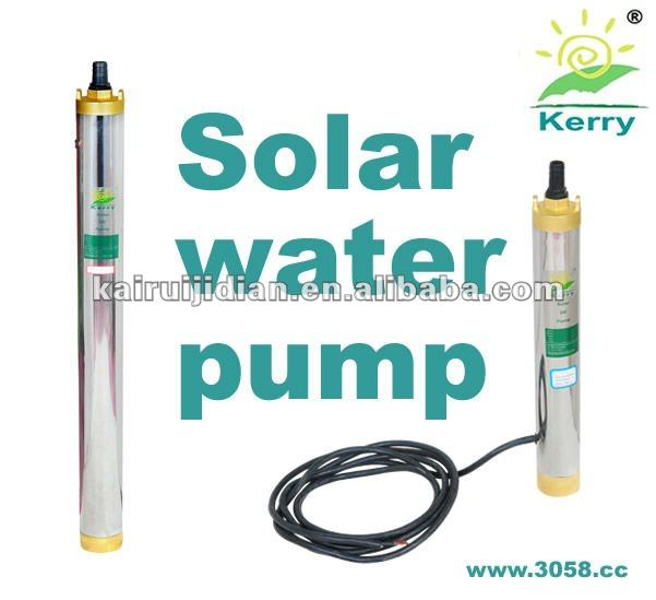 Deep Well Bore Submersible Solar Pump for Agriculture & Drinking Water & High Building