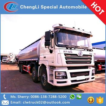 Good quality Shacman 35 CBM 8*4 oil tanker truck for sale in Iran