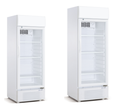 160L Supermarket Vertical Glass Door Drink Display Freezer