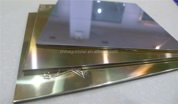 high reflective mirror cladding aluminum sheet