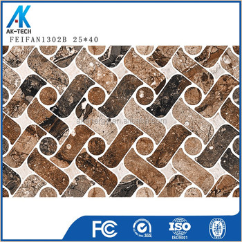 250x400mm adhesive metal color wall tile , bathroom wall tile price in srilanka