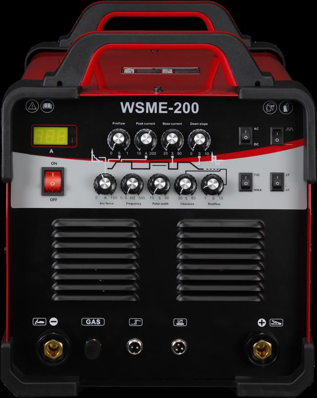 wsme-315 ac/dc inverter tig/mma pulse welder