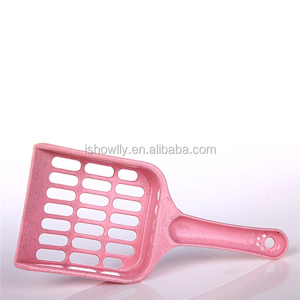 High quality pink Cat litter scoop/ the cat sand shovel/cat poop scoop cat products