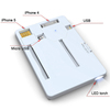 5mm Ultra thinnest Power bank with integrated Micro USB, iPhone 4/5 cables&LED light, 500mAh