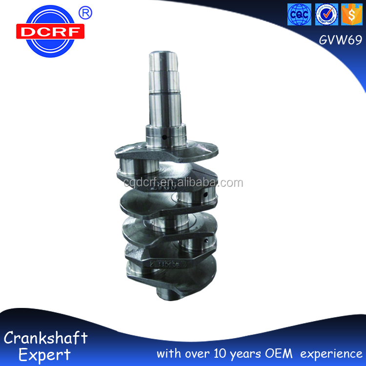 Forged Steel Engine Parts Crankshaft for Volkswagen