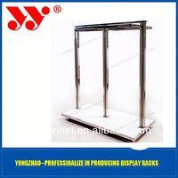 2013 Perfect portable 2 side clothes pallet display