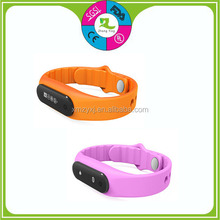 Good price qith 3 D silicone smart bracelet pedometer watch