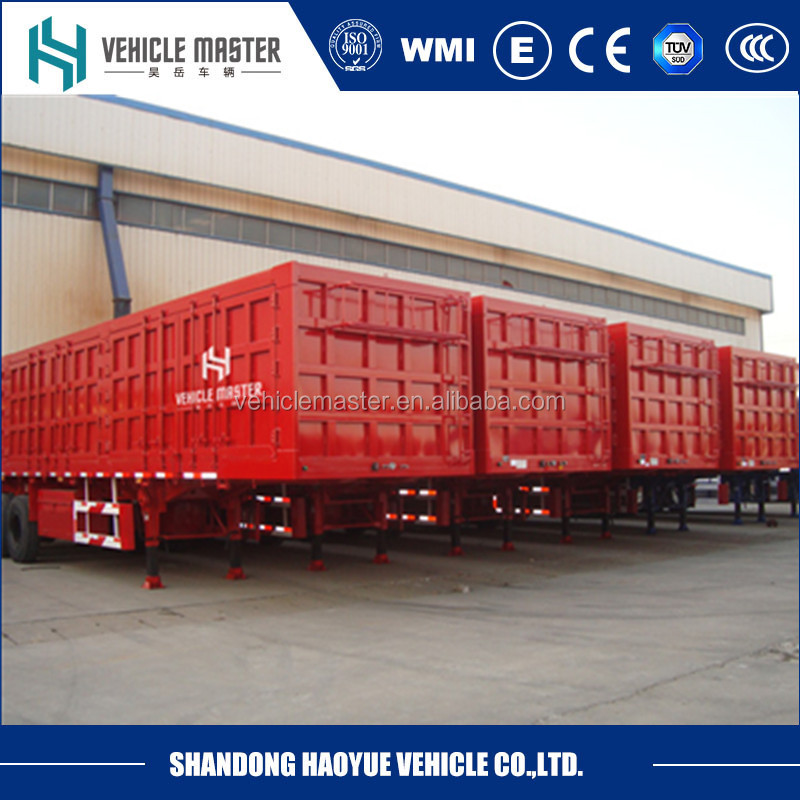 China manufacturer strong box trailer kits with ISO certificate
