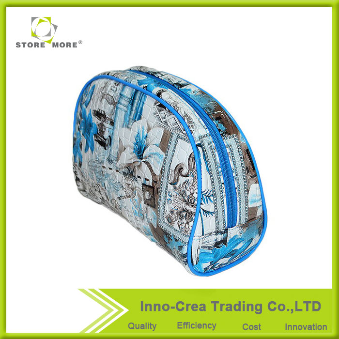 High Quality Stone Pattern PVC Traveling Cosmetic Bags