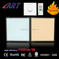 Commercial building lighting high performance 600x600x10mm size 1-10V dimmable led panel light 36W