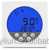Room temperature control touch screen room thermostat