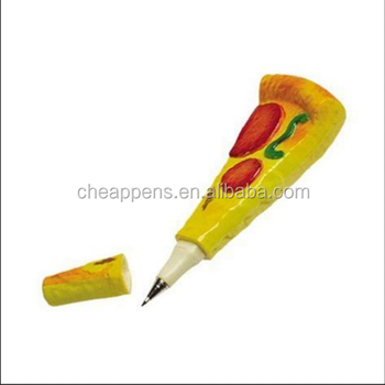 funny creative simulation pizza ballpoint pen for souvenirs