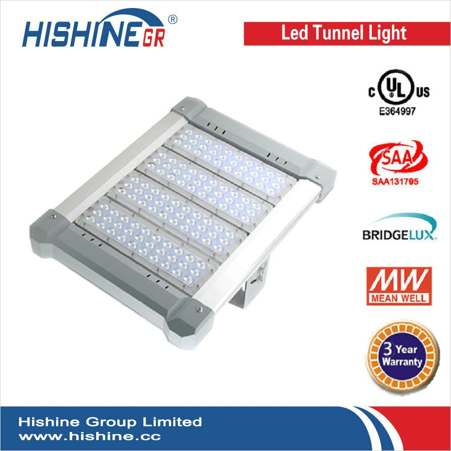 Die-casting Aluminum 100W 150W 200w Highway Tunnel Light led wall pack led tunnel light