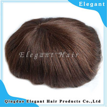 sell china wigs toupee/men natural hair toupee from qingdao