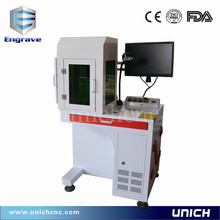 High quality marking machine with protective cover/laser optical bench and marking head price