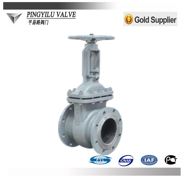 ANSI600 pn16 dn100 hydraulic for plumb stem gate valve valve machine