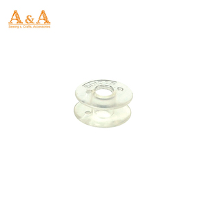 Plastic lock core color transparent shuttle core of bobbin for household electric sewing machine