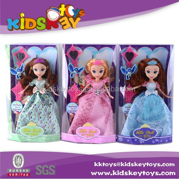 new girl toy beautiful princess doll