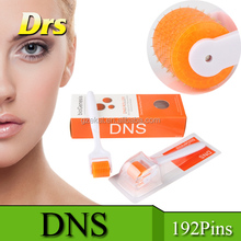 Orange head white handle dns derma roller 192 needles made in China