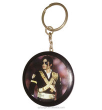 No Minimum Michael Jackson Custom Picture Logo Projector Bottle Opener Keychain