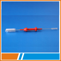 disposable surgical product instrument medical port hole cleaning brush