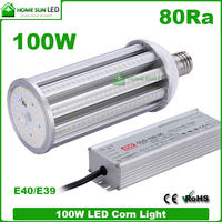 high quality external meanwell driver E40 100W LED light bulbs