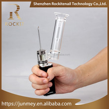 Rockit wax vapes h enail rechargable vaporizer pen with 510 thread water glass bubbler