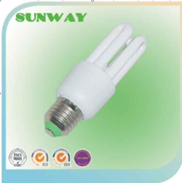 2016 hot sell!!! Full Spiral cfl bulb, energy saver, 3U energy saving light with CE
