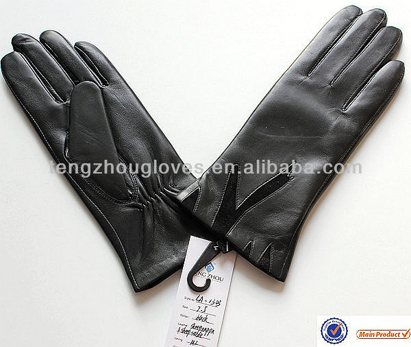 Best Price Custom Made Ladies Leather Gloves