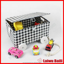 Wholesale cheap plastic toy storage box with lid