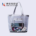 Outside beach travel handle bag PVC beach waterproof shoulder bag